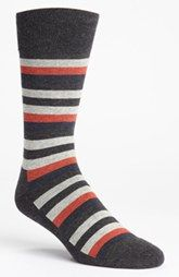 Nordstrom Cushioned Stripe Socks (3 for $30)