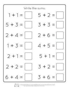 Addition Worksheets for Kids Easter Kindergarten Addition Worksheets Itsy Bitsy Fun English Worksheets For Kindergarten, First Grade Math Worksheets, Printable Preschool Worksheets, Preschool Writing, Kindergarten Learning, Easter Worksheets, Addition Worksheets For Kindergarten, Teaching Phonics, Free Worksheets