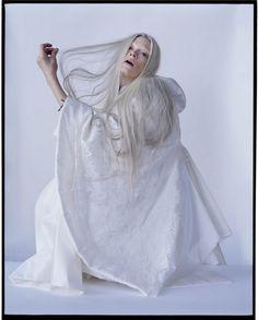 """""""The Origins of Monsters""""   Model: Kristen McMenamy, Photographer: Tim Walker, LOVE Magazine, Spring 2012"""