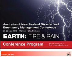 Australian & New Zealand Disaster and Emergency Management Conference 2013 (ANZDMC 2013) | MediSitu.Com