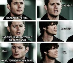 Of course he didn't. Do you think John would ever tell Sam something like that? No. He wouldn't.