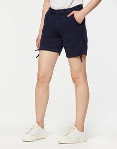 Karin Shorts Dark Cobalt aus Biobaumwolle #veganemode #fairfashion #veganfashion Casual Shorts, Jeans, Fashion, Vegan Fashion, Womens Fashion, Summer, Cotton, Nice Asses, Moda
