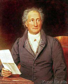 Joseph Karl Stieler - Johann Wolfgang von Goethe (1749-1832) 1828