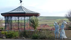 The Victorian Family, Saltburn-by-the-Sea by Emma Stothard Sculpture