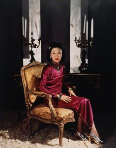 Madame Wellington Koo (née Hui-lan Oei) by Horst P. Horst, modern print from original negative, 1940s