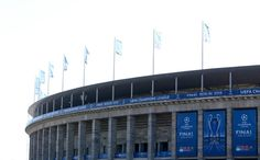 A general view the stadium on the eve of the UEFA Champions League Final between Juventus and FC Barcelona at Olympiastadion on June 5, 2015 in Berlin, Germany.