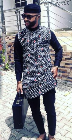 We present you the latest Ankara styles for men for this month in African Wear Styles For Men, African Shirts For Men, Ankara Styles For Men, African Dresses Men, African Attire For Men, African Clothing For Men, Latest Ankara Styles, African Clothes, Nigerian Men Fashion
