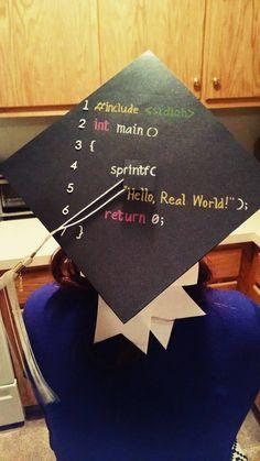 My Computer Science Graduation Cap - Album on Imgur