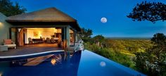 Singita-Grumeti-Reserves - I would love to swim in the pool and watch wild game!