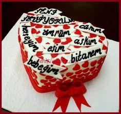 Sevgiliye kalpli pasta