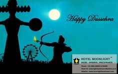 Celebrate the auspicious occasion of #Dussehra by spreading the power of goodness. Heartfelt greetings from #moonlighthotelresort