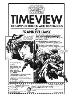 Doctor Who Timeview Ad 1985 by combomphotos, via Flickr