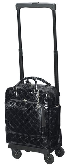 SWANY Black quilted travel bag ($379.00) Sold at Metro Paragon. Visit www.metro.com.sg for more information or LIKE our Facebook page at www.facebook.com/MetroSingapore