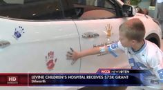 An organization made a large donation to Levine Children's Hospital to help fund cancer research performed by the hospital's doctors.