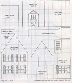 Free Gingerbread House Plans   Gingerbread House - instructions, tips, and more