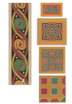 Full page sample from the book Celtic Design