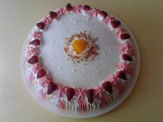 Torta con frutillas