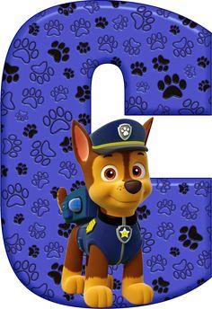 *✿**✿*C*✿**✿*DE ALFABETO DECORATIVO Paw Patrol Cake, Paw Patrol Party, Paw Patrol Birthday, Imprimibles Paw Patrol, 3rd Birthday, Birthday Parties, Cumple Paw Patrol, Imagenes My Little Pony, Toy Story Party