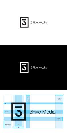 #logo #identity #design 3FIVE