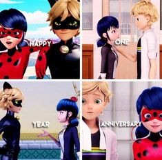 Happy One Year Anniversary of Miraculous ladybug!!!