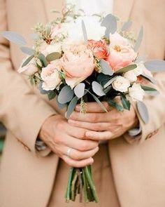Peach & Blush Bouquet (7th Apr 2014)