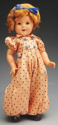 "Wonderful Ideal ""Shirley Temple"" Doll"