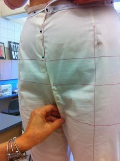 Cation Designs: Pants Pattern Alterations. A fantastic illustrated guide.