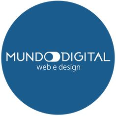 Novo logo da Mundo Digital web e design