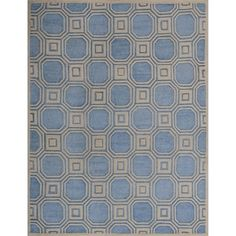 @Overstock - Safavieh Handmade Precious Mist Blue Polyester/ Wool Rug (8' x 10') - Safavieh's Precious collection is inspired by timeless designs crafted with the softest polyester and wool available.  http://www.overstock.com/Home-Garden/Safavieh-Handmade-Precious-Mist-Blue-Polyester-Wool-Rug-8-x-10/8398129/product.html?CID=214117 $456.08