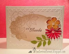 thanks secret garden  #SU.  Get the matching stamps and dies through Stampin' Up!