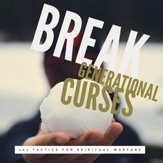 Spiritual Warfare Tactic 44 ••Break Generational Curses•• You may notice a curse that manifests as cancer in the bloodline.  You can break… Spiritual Warfare, You May, Cancer, Nerd, Spirituality, Bible, Instagram, Biblia, Otaku