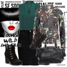 Ubrania moro jak nosić Military Style, Military Fashion, Army Style