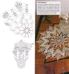 Col Crochet, Crochet Ball, Crochet Circles, Crochet Doily Patterns, Crochet Diagram, Thread Crochet, Filet Crochet, Crochet Doilies, Crochet Stitches