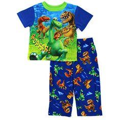 Disney Store Deluxe The Good Dinosaur Pajama PJ Size S 5 5T Arlo Spot Butch