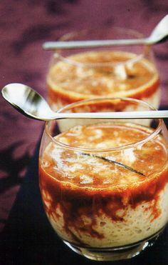 Flavors of Brazil: RECIPE - Rice Pudding with Caramel and Fleur du Sel (Arroz Doce ao Caramelo com Flor de Sal)