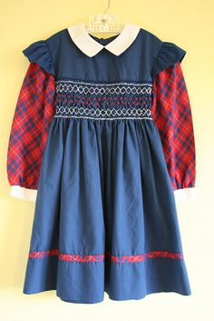 Polly Flinders Dress: I usually wore one of these on the first day of school