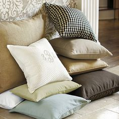 Throw Pillows Ballard Design : Tarkington Guest Rooms/ Silver on Pinterest Hotel Collection Bedding, Comforter Sets and ...