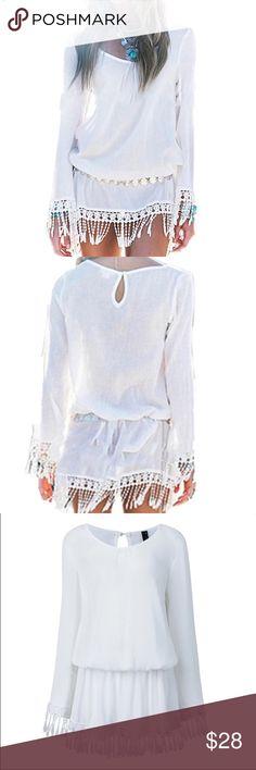 Spotted while shopping on Poshmark: Bohemian Tassel Mini Dress! #poshmark #fashion #shopping #style #Dresses & Skirts