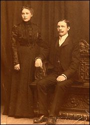 Carl & Selma Asplund, daughter Lilian and their three sons were on Titanic when it hit an iceberg and sank on April 14 1912, killing 1,500 people. Carl had decided they should die together, but at the last moment Lillian and brother Felix, three, were thrown into a lifeboat by a stranger. Carl, 40, then pushed his wife Selma forward to go with them. Carl's drowned and frozen body was recovered from the Atlantic 12 days later with the ticket and pocket watch.  But his three sons were never…