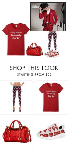 """""""Mind My Own Business Personality Disorder"""" by mixthatfit on Polyvore featuring Dooney & Bourke"""