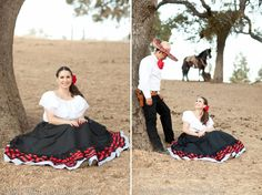 Engagement Photos- Mexican, Horses, & Charro Theme