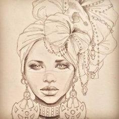 Resultado de imagen de African drawing art