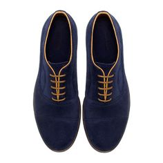 CONTRAST OXFORD SHOE