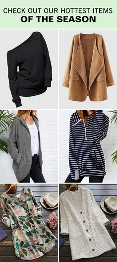 Surprise, start from $3.99! Go out with free shipping&easy return! Casual & chic, show off even in the winter. You'll be impressed with high quality & better experience. Check now at Cupshe.com