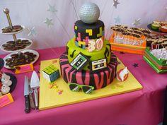 G teau ann e 80 80 39 s cake by un jeu d 39 enfant our creations with un jeu d 39 enfant pinterest - Gateau annee 80 ...
