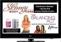 Help wanted!! In just 2 days, Skinny Body Care will be featured on Lifetime's TV show, The Balancing Act. We need distributors now to help with the overwhelming demand of this company that we are experiencing now and that we will experience once we hit the air. The two products that we offer are amazing...don't miss out on this amazing opportunity!! Message Me for further details or visit my site at http://cdsudduth.SBC90DayChallenge.com