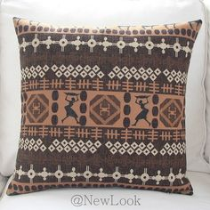 African Cotton Linen Decorative Throw Pillows Decorate for a Sofa Cushion Cover Pillow Cover Case Cushions Home Decor IKEA Q526(China (Mainland))