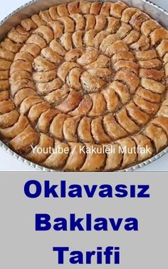 Non-Rolling Baklava Recipe - Dessert Recipes Oreo Desserts, Sweet Desserts, No Bake Desserts, Pudding Desserts, Easy Desserts, Easy Cake Recipes, Dessert Recipes, Keto Cookie Dough, Cakes Plus