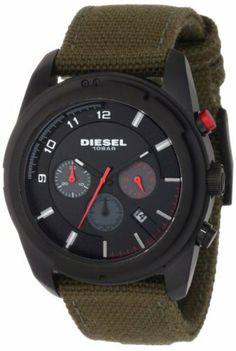 Diesel Men's DZ4189 Advanced Chronograph Black Dial Watch Diesel. $138.17