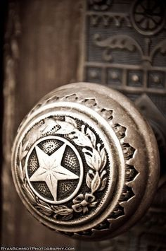 All good Texans should have Texas-style doorknobs.  Preferably, everything in the home should reflect Texas in some way... ~Houston Foodlovers